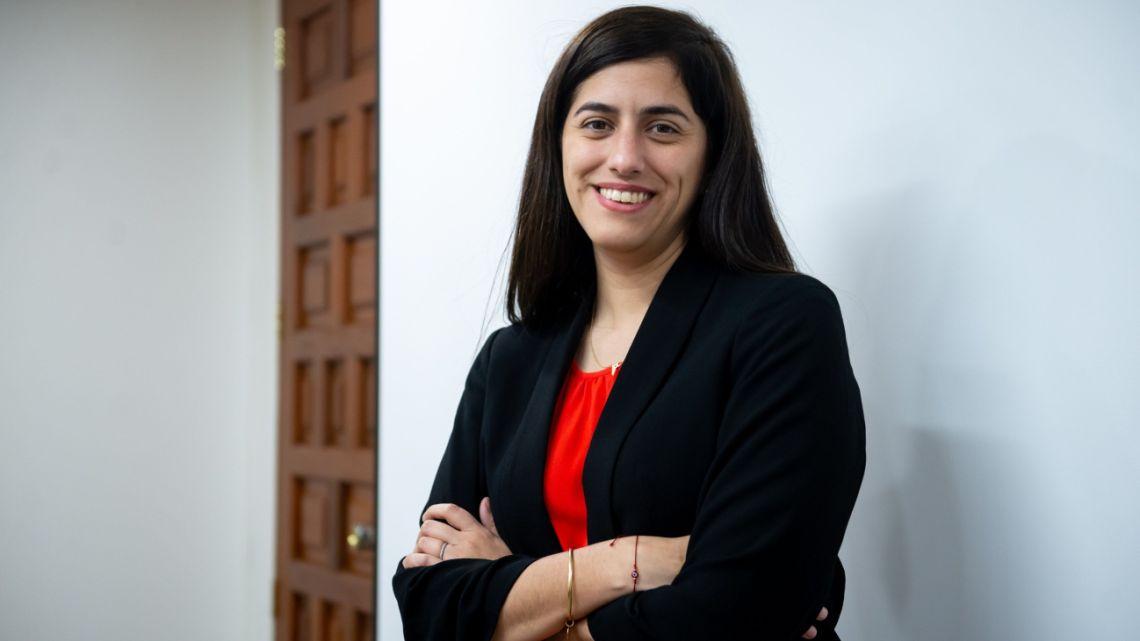 Peru Finance Minister Maria Antonieta Alva.