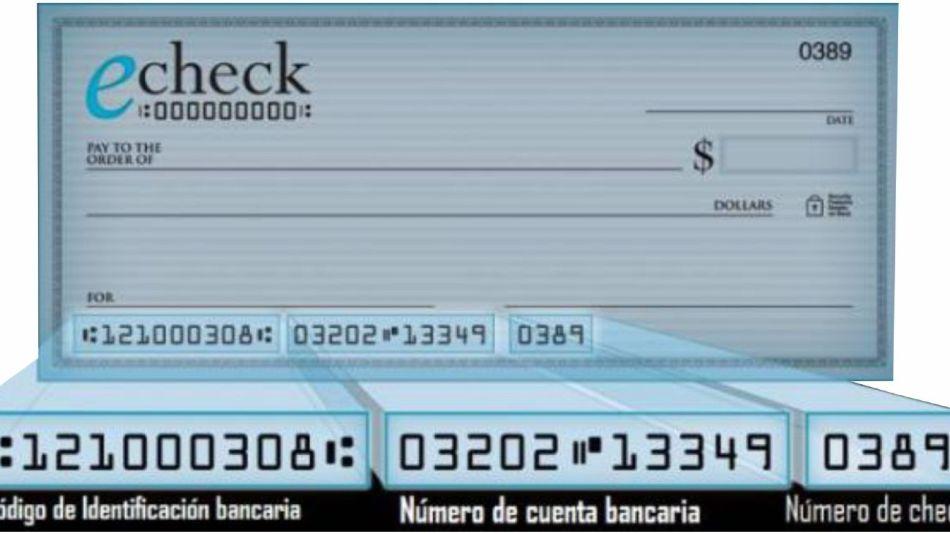 Aumentó el uso de e-cheqs para pago y financiamiento