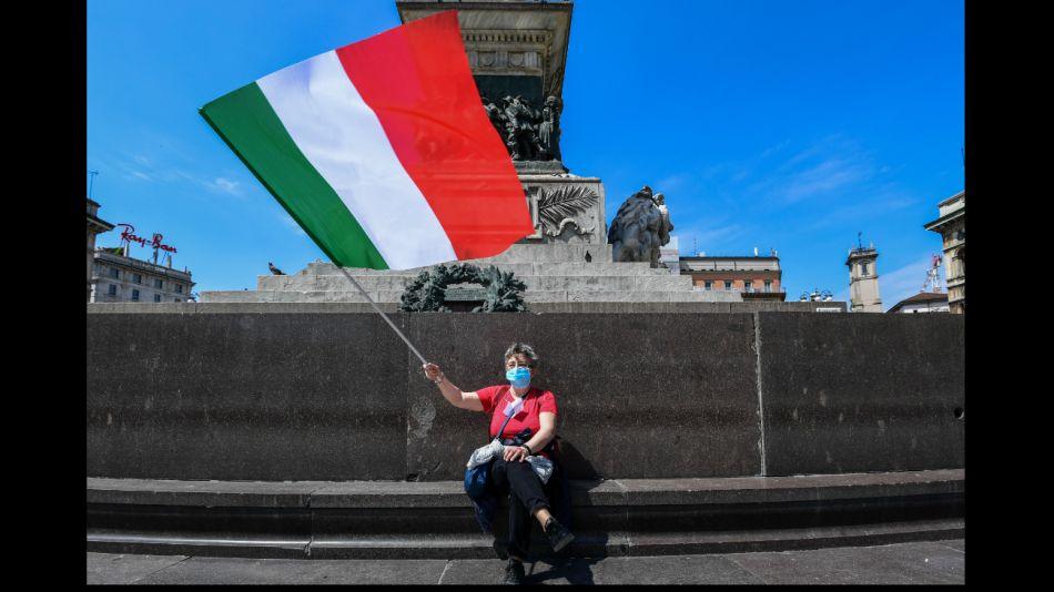Italia comienza la salida gradual de la cuarentena