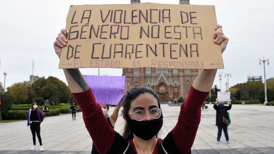 La Plata: Mujeres reclaman medidas que eviten los femicidios 20200504