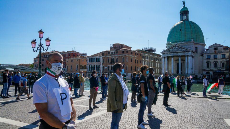 """Italia comienza la salida gradual de la cuarentena con la """"fase convivencia"""""""