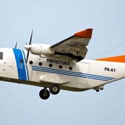 Además del control fluvial, Prefectura posee una estación aérea en Mar del Plata y otra en Comodoro Rivadavia donde aloja dos aviones que monitorean las aguas nacionales.