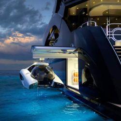 La empresa U-Boat Worx es muy conocida en el ambiente por construir submarinos de bolsillo.