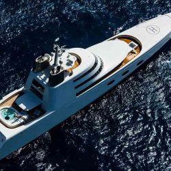 El Superyacht A, de 120 metros de eslora y 323 millones de dólares.