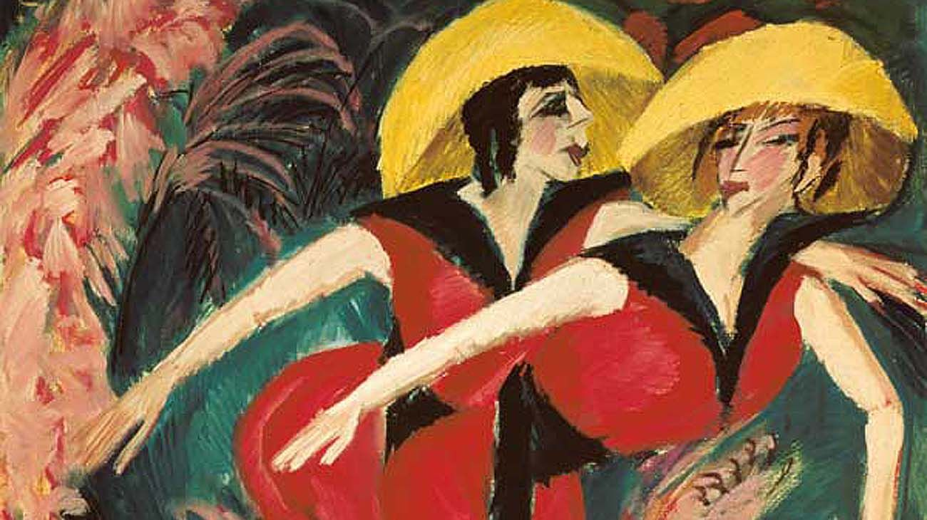 Obras de Ernst Ludwig Kirchner, creador del expresionismo alemán