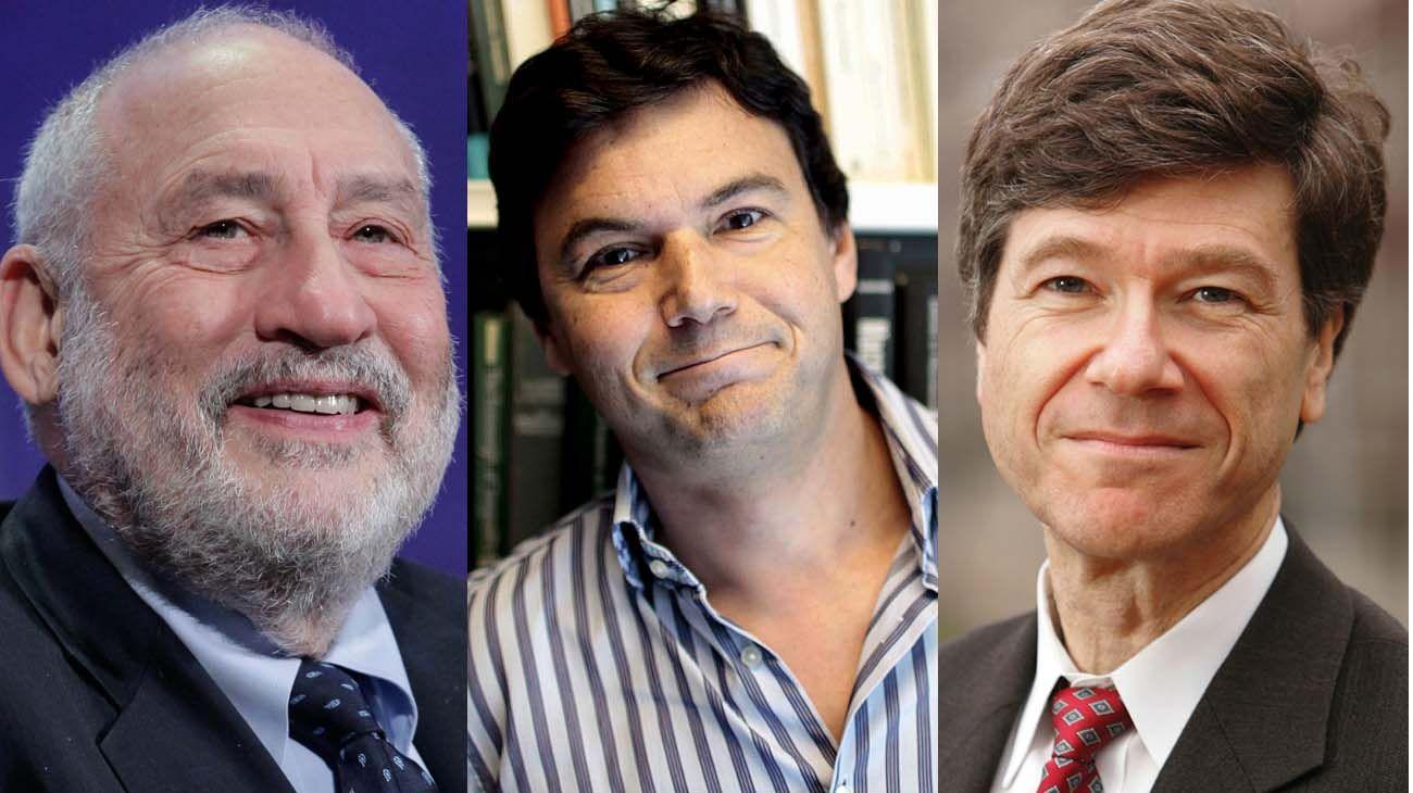 Stiglitz, Piketty y Sachs, referentes internacionales que respaldan a Guzmán.