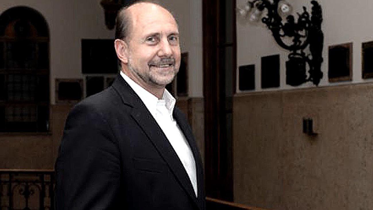 El gobernador de Santa Fe Omar Perotti