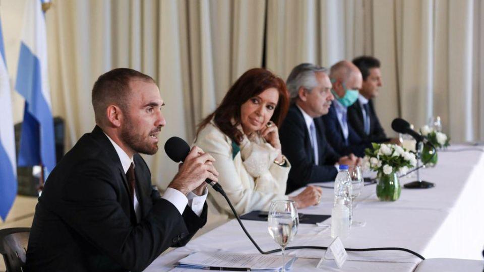 Alberto, CFK, Larreta y Guzman-20200505