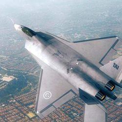 El TF-X tendrá una envergadura de 12 metros y 19 de largo.