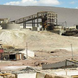 Muchas de las estructuras de la mina La Casualidad resisten aún los años.