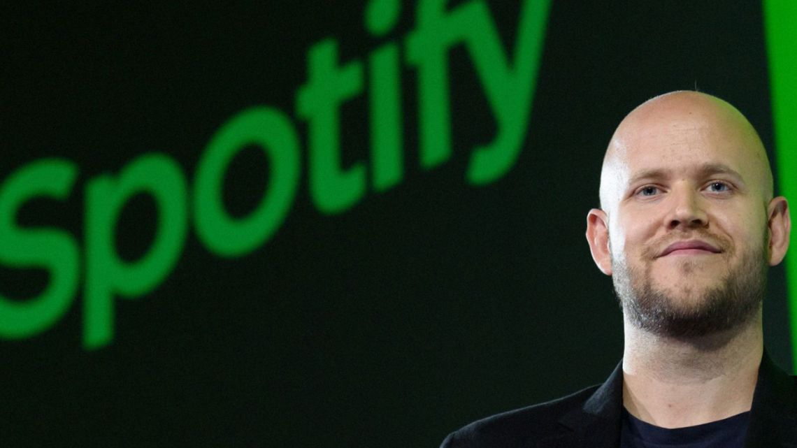 Spotify Founder and Chief Executive Officer Daniel Ek.