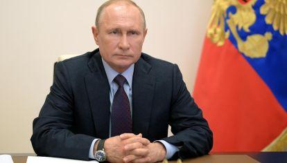 El presidente de Rusia Vladimir Putin