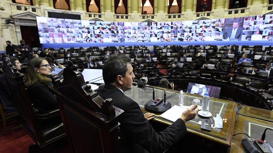 """Buenos Aires: Massa aseguró que las sesiones virtuales constituyen """"un cambio de paradigma""""  20200506"""