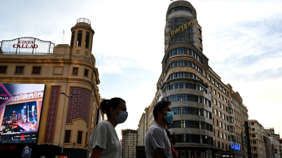 Madrid en cuarentena.