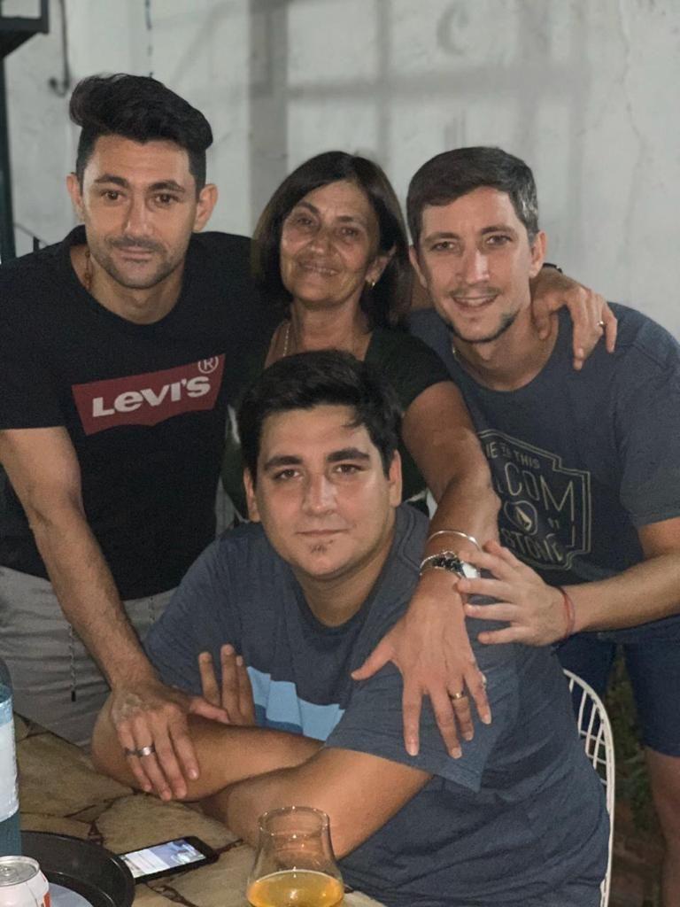 7-5-2020 Juan Varea con familia