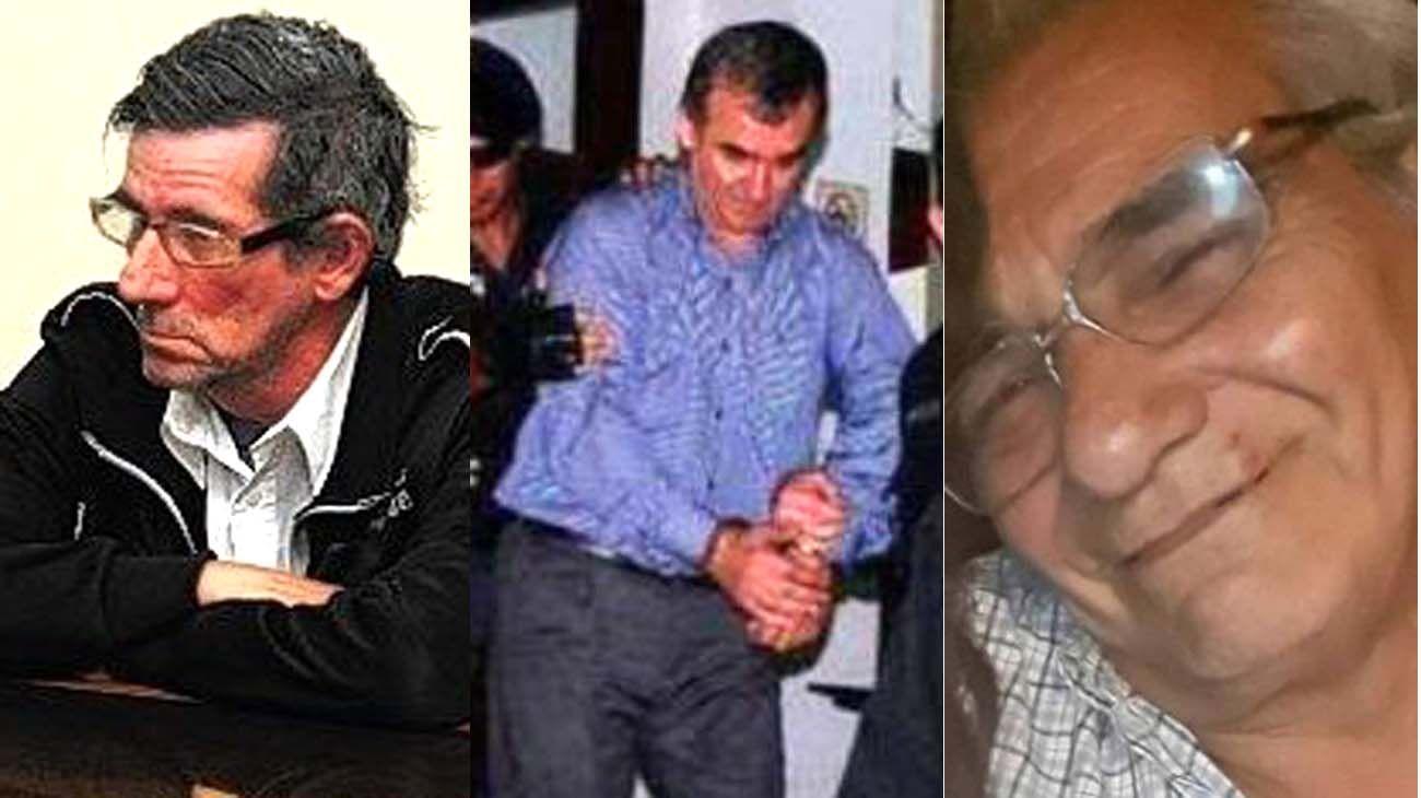 abusadores. Néstor Ibars, Carlos Dalmasso, Pedro Olmos fueron acusados por abuso sexual.