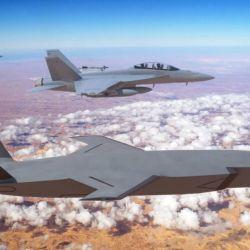 Estas aeronaves no tripuladas pueden servir como escudo y proteger a los jets tripulados.