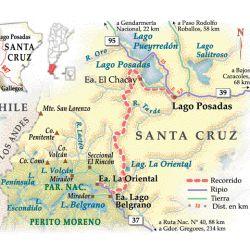 Parque Nacional Perito Moreno, Santa Cruz.