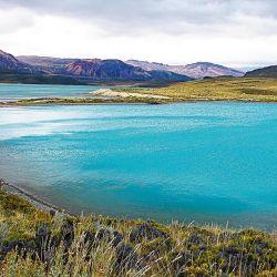 El color turquesa de los lagos: un festival para los ojos.