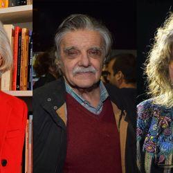 Beatriz Sarlo, Horacio Gonzalez y Rita Segato | Foto:Cedoc