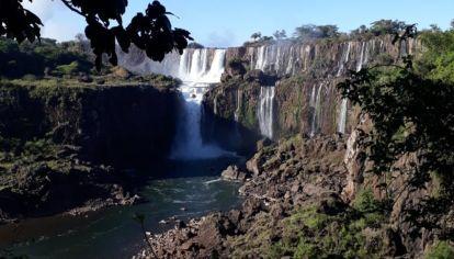 Las Cataratas del Iguazú tiene 5 veces menos caudal de agua de lo normal.