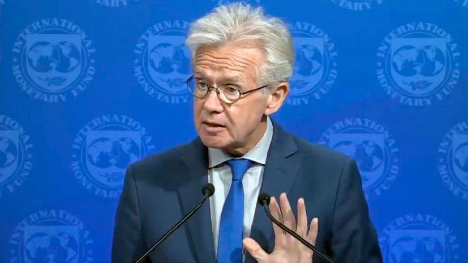 Gerry Rice, vocero del Fondo Monetario Internacional