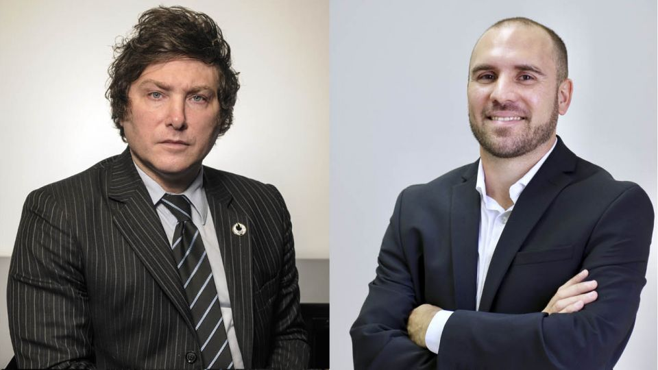 Javier Milei y Martin Guzman
