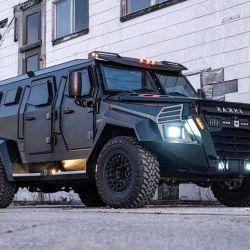 El Sentry Civilian cuenta con un motor un V8 turbodiésel de 6.7 litros.