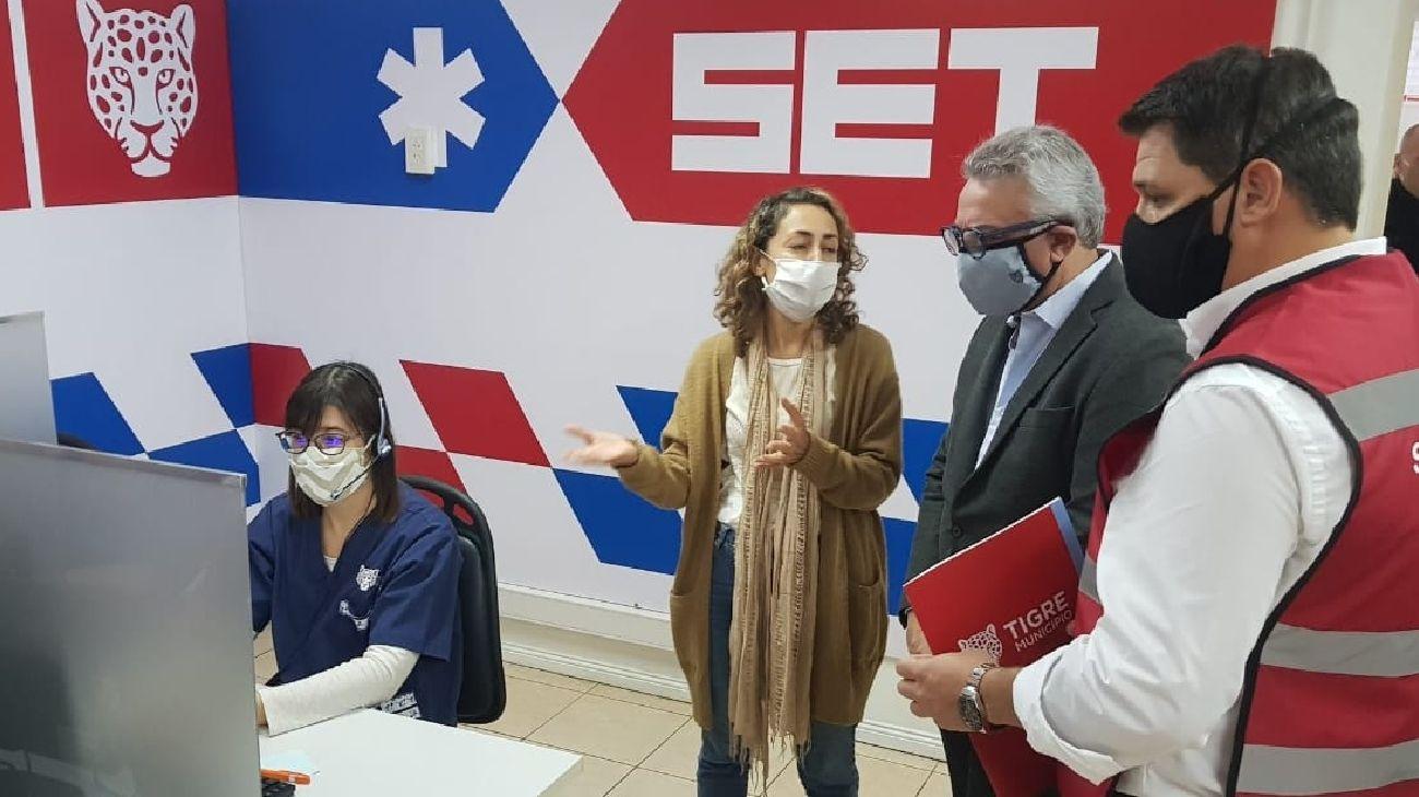Julio Zamora presentó un servicio de Telemedicina para atención de vecinos y vecinas de Tigre.