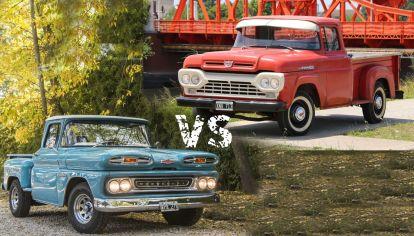 Chevrolet C10 y Ford F100 (Revista Parabrisas)