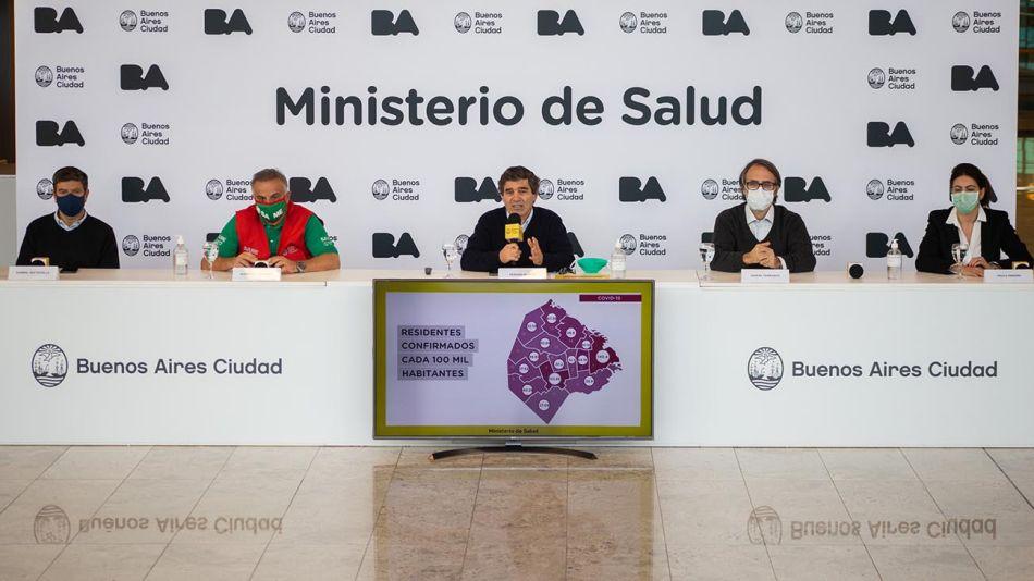 Buenos Aires: Quirós dijo que se liberarán actividades que