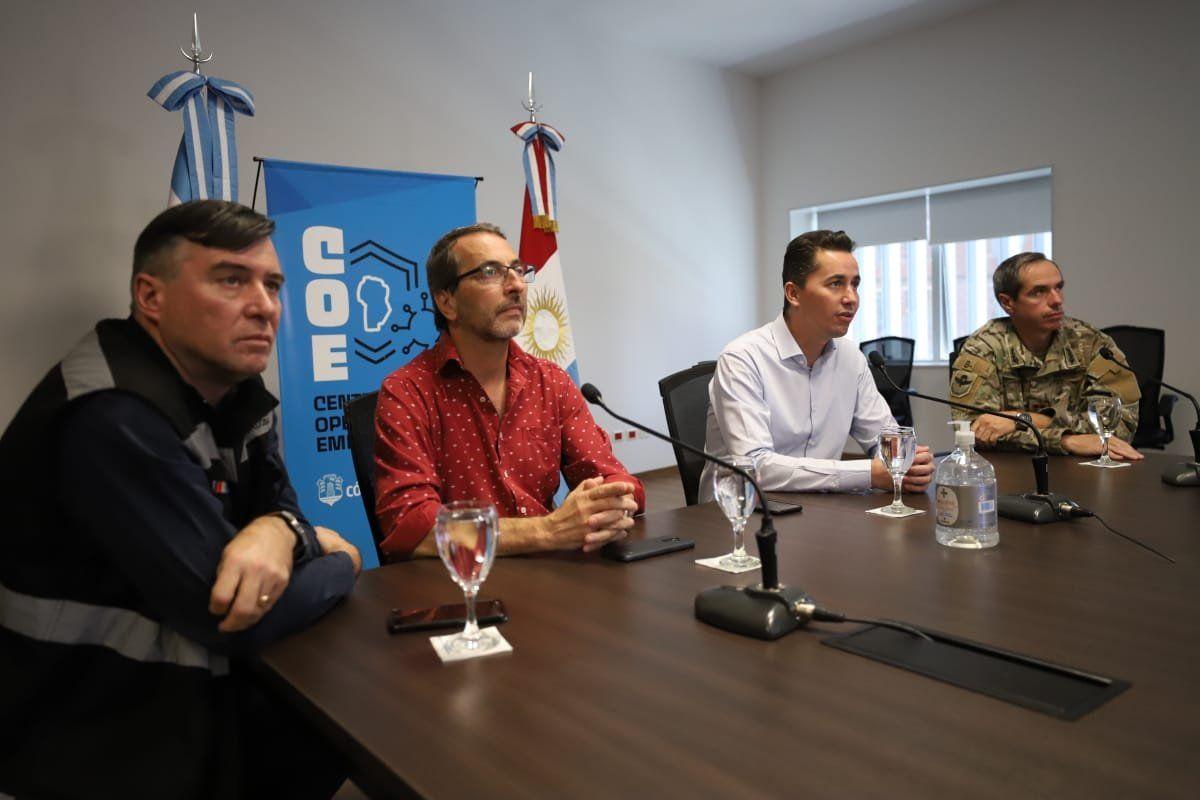 SEMANA CLAVE. Juan Ledesma (COE) junto al vicegobernador Manuel Calvo, definirán cómo sigue la cuarentena en Córdoba.