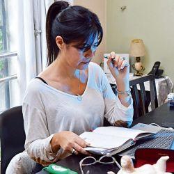 EL trabajo a distancia provoca un nuevo tipo de estrés. | Foto:Marcelo Escayola