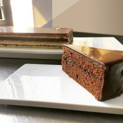 La tradicional torta austriaca.