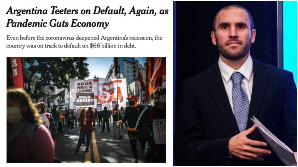 La publicación del New York Times hace referencia a la oferta argentina.
