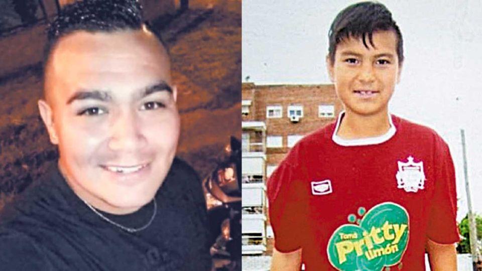 Acusado. La Justicia difundió la foto de Juan Pablo Maidana (izq). / Víctima. Pablo Silva fue asesinado de un tiro (der).
