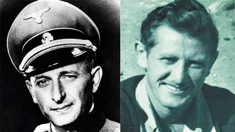 Criminal y cazador. El nazi y Peter Malkin, el agente que lo capturó.