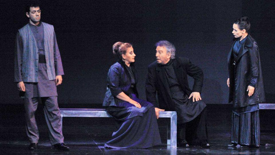 Regreso. Diez años después vuelve online la clásica puesta de la obra de Shakespeare con Alfredo Alcón.