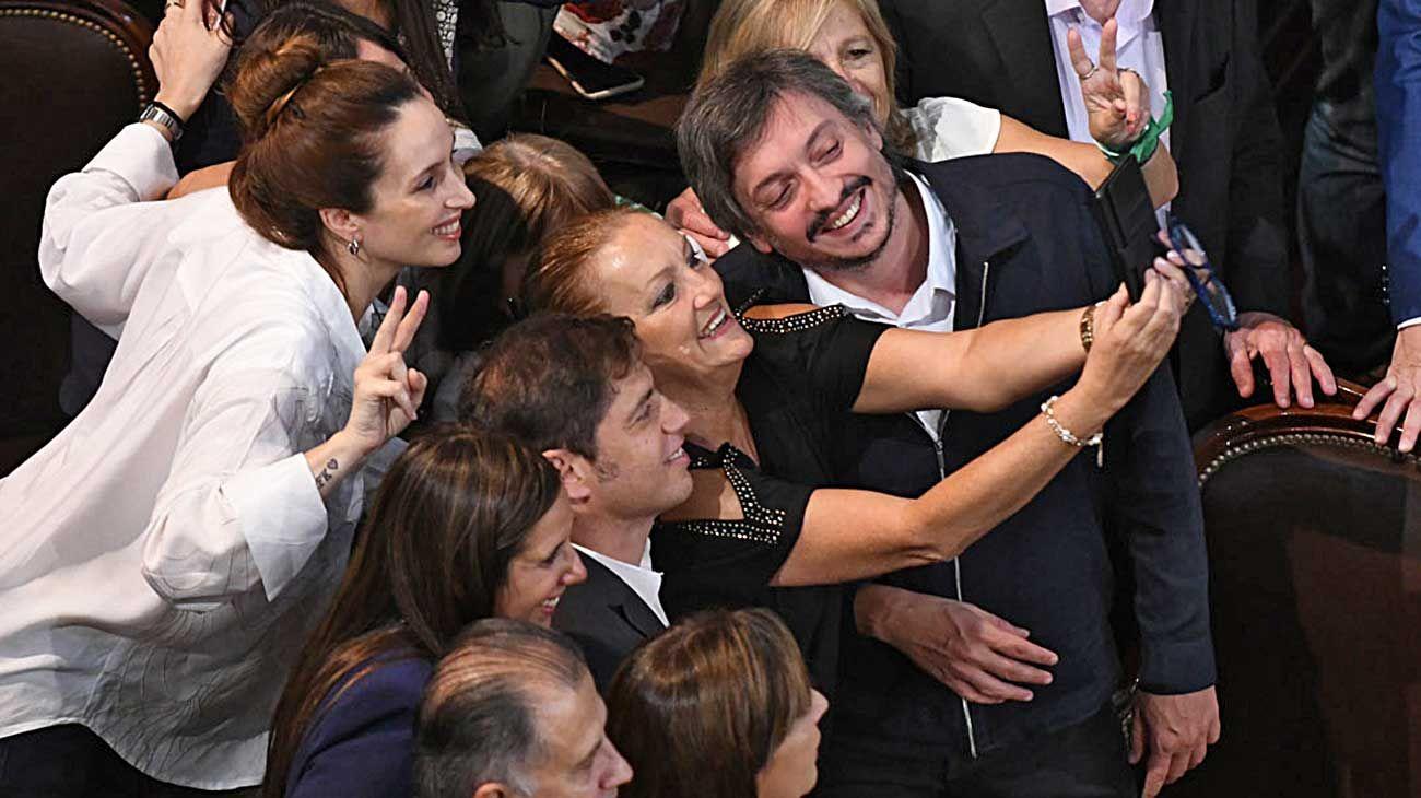 Tiempos. Máximo Kirchner es menos ostentoso que su madre y dicen que heredó la astucia paterna.