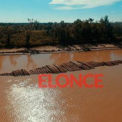 Quedó a la vista la malla protectora del Tünel Subfluvial en el río Paraná.