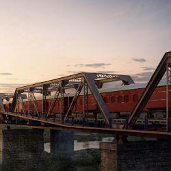 Un tren detenido en un puente se convirtió en un hotel de lujo en el sudafricano Parque Kruger.