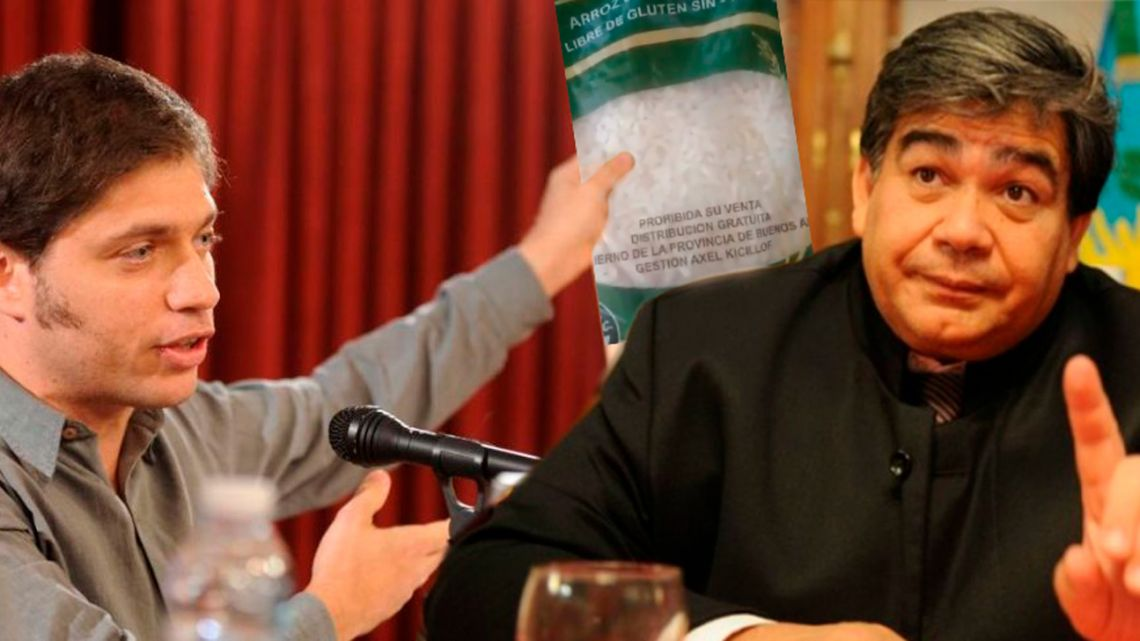 La feroz interna entre Mario Ishii y Kicillof tras la fake news del arroz