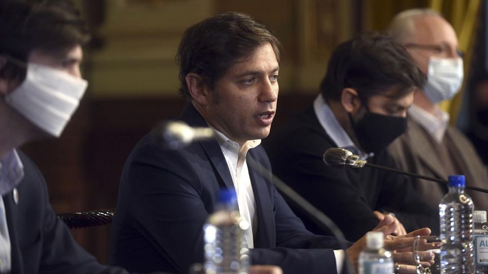 gobernador Axel Kicillof y el jefe de Gabinete Carlos Bianco 20200511