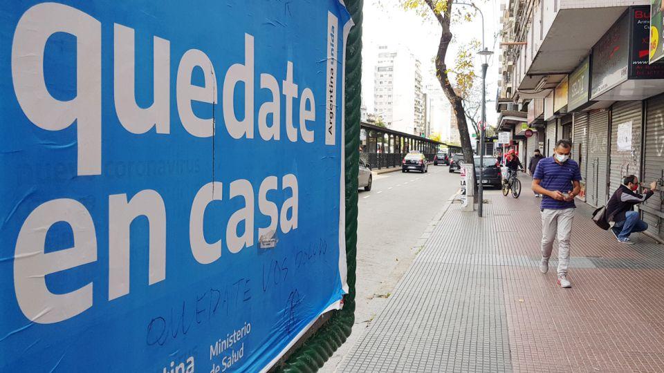 La ciudad en cuarentena hoy