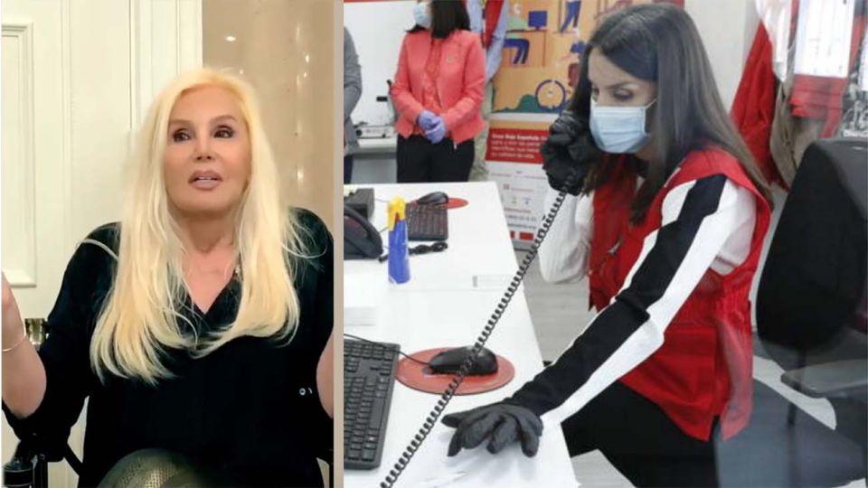 Susana y Letizia solidarias