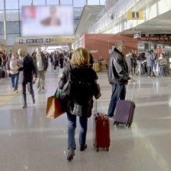 Las cámaras de Alerta Aeropuerto sigue las tareas de control que se realizan en la puerta de entrada a Italia.