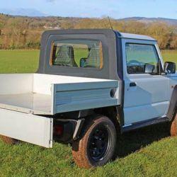 Esta Suzuki Jimny pick-up tiene un precio inicial de 5.500 libras esterlinas.