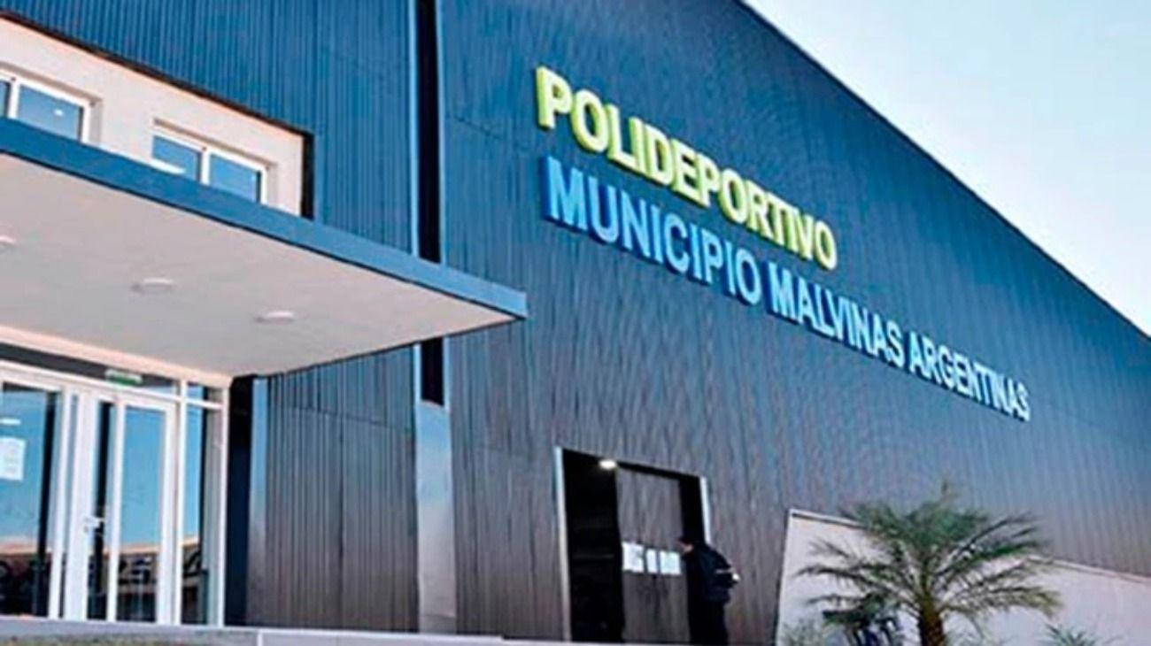 El hecho ocurrió en el Polideportivo de Los Polvorines del municipio de Islas Malvinas.