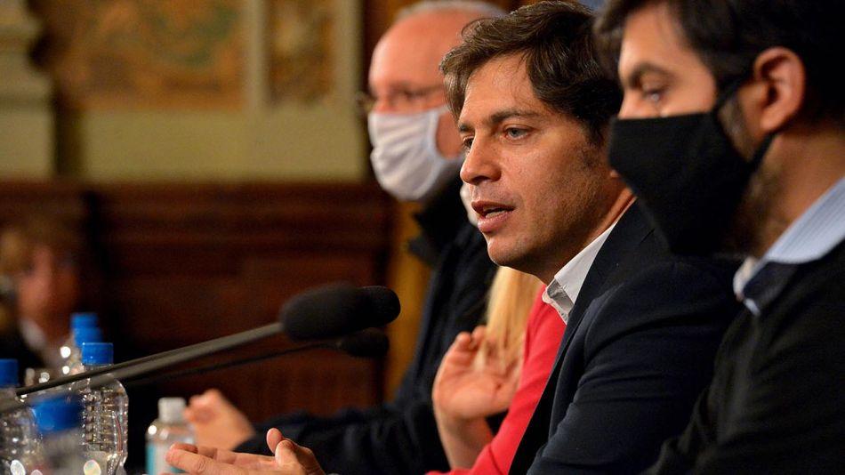 El gobernador de la provincia de Buenos Aires, Axel Kicillof 20200512