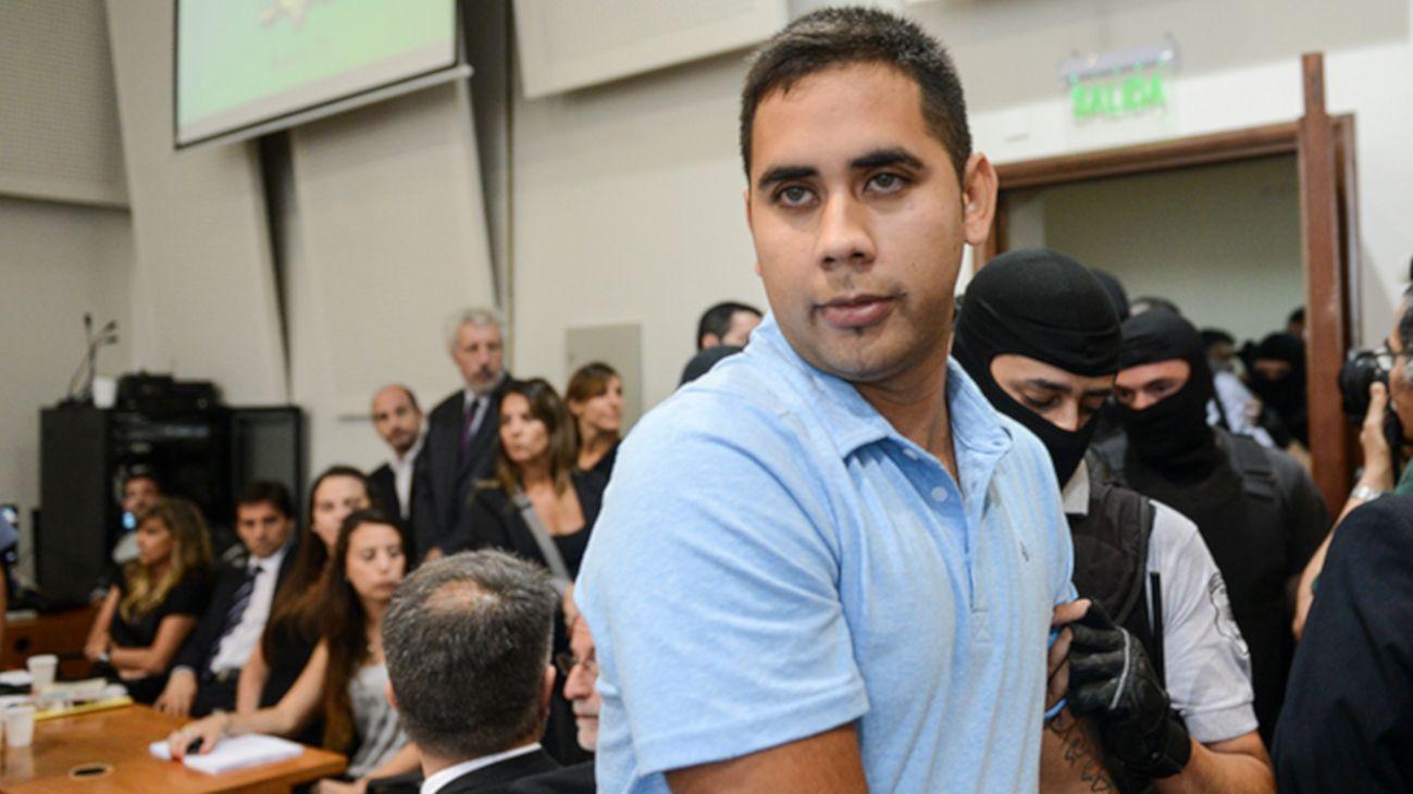 """Daniel """"Teletubi"""" Delgado está preso desde febrero de 2012. Cumple condena a 21 años de cárcel."""